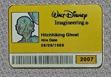 WDI ID Badge 2007 LE 300 Ezra Pin  - Haunted Mansion Hitchhiking Ghost - LE300