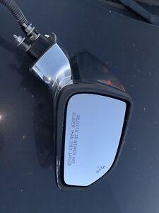 2013 2014 Lincoln MKZ Door Mirror Right Passenger Blind Spot Assist White Used