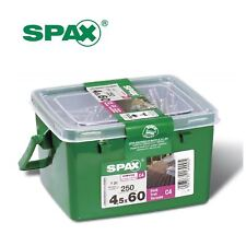 250 x Spax T-Star Plus Decking Screws 4.5 x 60mm with Corrosion Protection