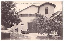 CPA ALGERIE - KOUBA - CLOS GRELLET - CAVES ET DEPENDANCES - TONNEAU DE VIN