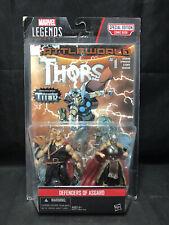 NEW Marvel Legends Series - Defenders of Asgard - Thor Figures Battleworld Comic