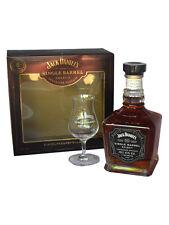 Jack Daniels Single Barrel Geschenk 1Glas Einzelfassabfüllung Bar Geburtstag
