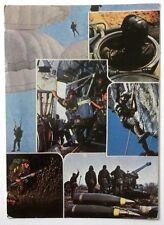 Cartolina Accademia Militare - Campagna Tattica 162° Corso 1981