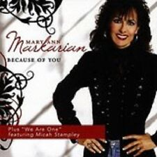 Mary Ann Markarian - Because of You - New Factory Sealed CD