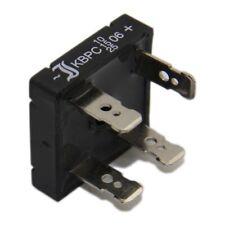 2x KBPC2502 Einphasen Brückengleichrichter Urmax 200V If 25A Ifsm 400A