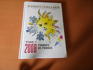 YVERT ET TELLIER Catalogue Timbres postes FRANCE 2008- 800 pages