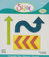 Sizzix Originals cutting die - Brenda Pinnick - Arrows 656043 - rare retired