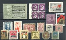 AUSTRIA 20 ST. INCL. POSTER STAMP /REVENUES / BACK OF BOOK-- F/VF