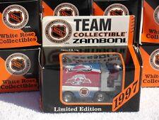 COLORADO AVALANCHE ZAMBONI NHL 1997 LIMITED EDITION SEMI DIECAST 1:50 SCALE