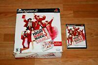 PS2 High School Musical 3 :Senior Year Dance Bundle Game & Dance Pad TESTED WORK