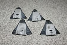 Set Of 4 Yakima Q Towers For Round Bar Roof Rack