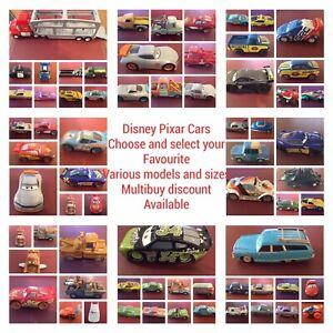 Disney Pixar Cars Various Models & Scales Diecast and Plastic Choose & Select