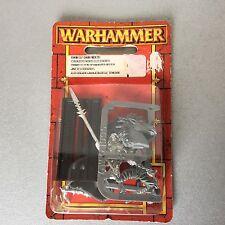 VINTAGE#Warhammer DARK ELF DARK RIDERS   Blister Metal#MOSC