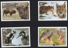 Romania 2013  Fauna - Complete set of 4 stamps- MNH