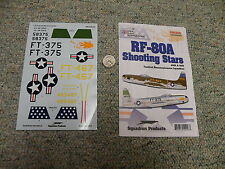 Superscale  decals 1/32 MS320253 RF-80A Shooting Stars 45th and 15th TRS    H76