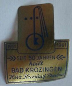 50 Jahre Bad Krozingen 1961 postfrische Vignette, Reklamemarke (23269)