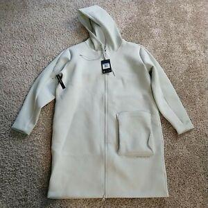 Nike Tech Pack Women's Jacket Parka Hooded Coat Size Medium/ Seafoam Green