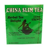China Slim Tea Dieter's Delight extra strength 36 Tea Bags Made in USA
