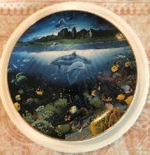 """Robert Lyn Nelson """"A Discovery off Anahola"""" Underwater Paradise Plate - New"""