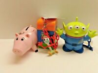 Tokyo Disney Toy Story 4 Mini Snack Case Forky  & Hamm & Little Green men Alien