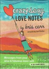 Crazy Sexy Love Notes Card Deck by Kris Carr NEW & Sealed