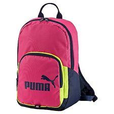 Puma Phase Small, Zaino Uomo, Rosa (Fuchsia Purple/Limepunch), 074104 02