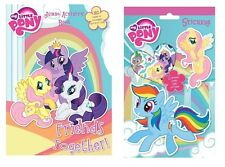 My Little Pony Pack over 700 Stickers With My Little Pony Jumbo Colouring Book