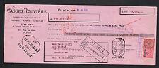 """DIJON (21) ALCOOL / PRUNELLE KIRSCH GUIGNOLET """"CASSIS ROUVIERE"""" en 1954"""