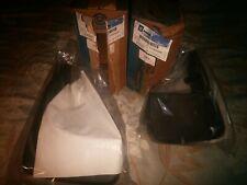 NOS 1997 2001 Front & Rear Mud Splash Guards Chevy Lumina GM 12495067 & 12495068