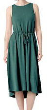 NEW The Limited Women's Summer Drawstring Midi Dress Size 2XL $69 Retail