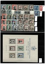 Yugoslavia 1943/45 EXIL completed set and block MNH/MH