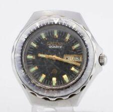 H020 Vintage Orient Quartz DayDate Watch Kanji Y029134-60 JDM Japan 40.2
