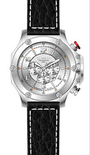 LUXURY CHRONOGRAPH Cavadini Watch Extravagant Silver Face New Collection