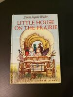 Little House on the Prairie Hardcover Laura Ingalls Wilder 1953 Illustrated
