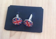 ATLAS Editions Union Jack Gemelli da uomo regalo Stocking Filler NUOVO