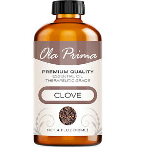 Clove Essential Oil - Multiple Sizes - 100% Pure - Amber Bottle
