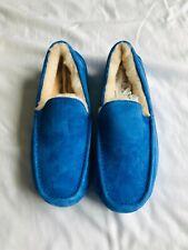 Men's UGG Slipper Shoe - Exotic Blue Suede Size US 10 NE