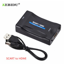 SCART to HDMI Composite Video Converter Audio Adapter with USB Cable for SKY TV