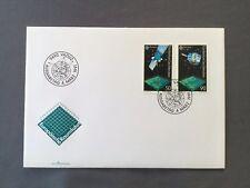 LIECHTENSTEIN FDC 4.3.1991 VADUZ Europäische Raumfahrt Europa