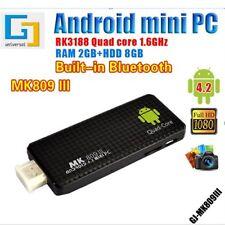 Android 4.4 Quad Core Mini PC Smart TV Box Dongle Stick 2G/8G XBMC DLAN WiFi DC