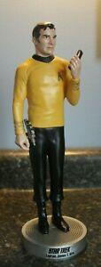 Star Trek Original Series Captain James T Kirk Resin Statue