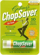 Chopsaver Lip Balm Especially for Musicians Players- 100% Natural Ingredients