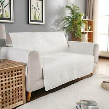 Microfiber Pet Dog Couch Slipcover Furniture Sofa Cover Off white_130x195cm