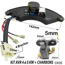 GROUPE électrogène piece Géneratrice carte Régulateur AVR 4 5 KVA Charbons CK05