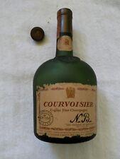 Courvoisier cognac fine champagne empty bottle