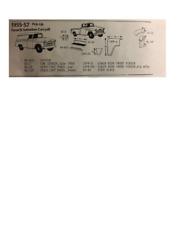 Chevy GMC Truck Headlight Fender Front Section Set L/R 1955-57 Schott FREE SHIP