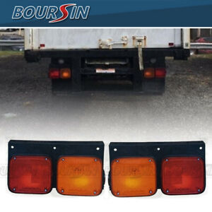 Tail Light For Nissan UD 1200 1400 1800 2000 2300 2600 3300 1995-2013 L+R LED