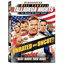 Talladega Nights: The Ballad of Ricky Bobby (DVD, Unrated Edition, Widescreen)