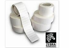 Genuine Zebra Direct Thermal Labels 76mm x 51mm 4 rolls