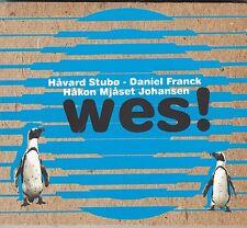 HAVARD STUBO / DANIEL FRANCK / HAKON MJASET JOHANSEN - wes CD